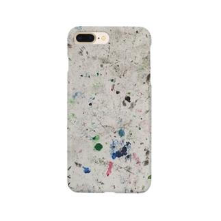 画用紙の裏 Smartphone cases