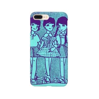 昭和の三人娘 Smartphone cases