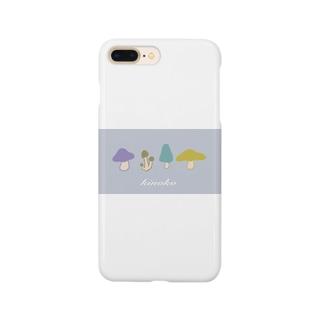 ばやのkinoko Smartphone cases