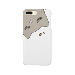 ちらみねこ Smartphone cases