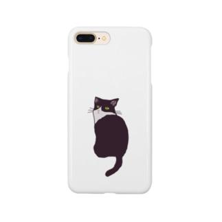 ハチワレねこ Smartphone cases