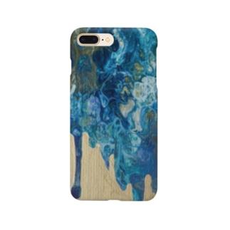 青と金 Smartphone cases