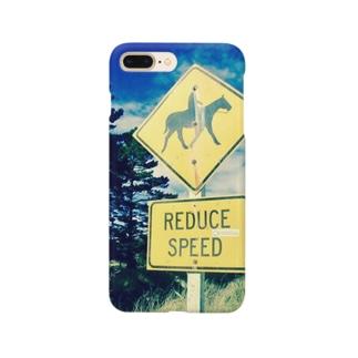 馬さんに注意( ˊ̱˂˃ˋ̱ ) Smartphone cases