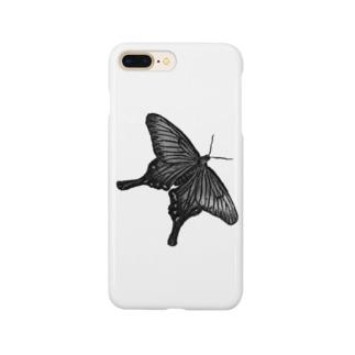 クロアゲハ Smartphone cases
