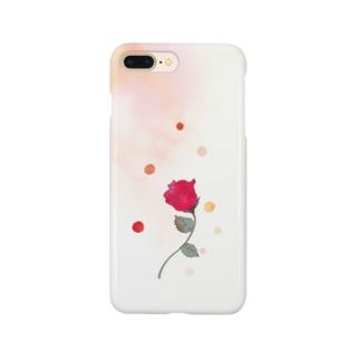 いつか夢みた薔薇 Smartphone Case