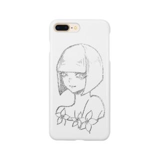 花ちゃん Smartphone cases