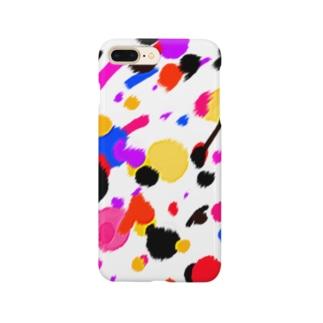 ドリッピング柄風 Smartphone cases