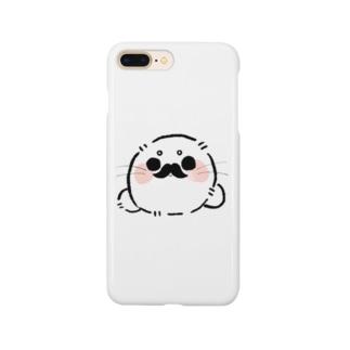ひげごま Smartphone cases