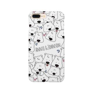 アニーとジョンソン Smartphone cases
