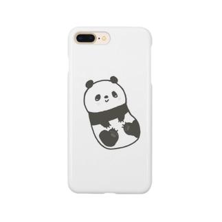 ころころパンダ Smartphone cases
