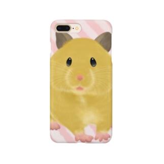 ふわふわキンクマ Smartphone cases