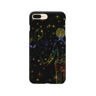 星の風船 Smartphone cases