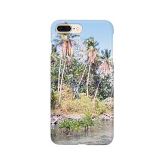 ミクロネシア:ナンマトル遺跡の風景写真 Micronesia: Nan Madol / Pohnpei Smartphone cases