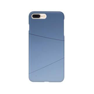 大きな空小さな飛行機 Smartphone cases