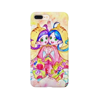 うりぼうずきんのふたごちゃん✳︎ Smartphone cases