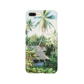ミクロネシア:ポンペイ島の風景写真 Micronesia: tropical view of Pohnpei Smartphone cases