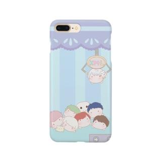 こみラスマホカバー Smartphone cases