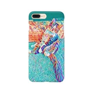 誘う猫(トルクメニスタン) Smartphone cases