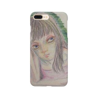 冷淡な女 Smartphone cases
