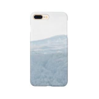 冬の山 Smartphone cases