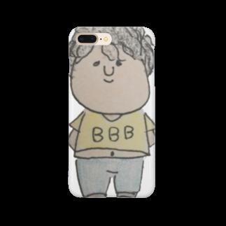 shi☺︎ shopのへいちゃん Smartphone cases