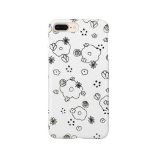 MOkLENとお花もりもり Smartphone cases