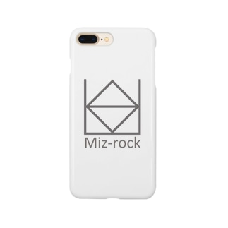 水ロック 白 Smartphone cases