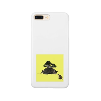 盆栽肩平 Smartphone cases