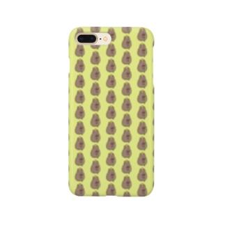 ドット絵カピバラ&柚子 Smartphone cases