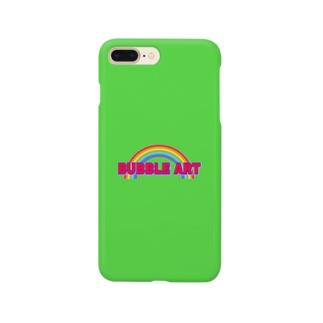 BUBBLE RAINBOWなスマホケース Smartphone cases