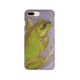 リアルカエル Smartphone cases