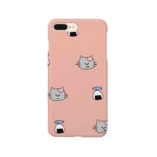 ハッピーねこちゃん Smartphone cases