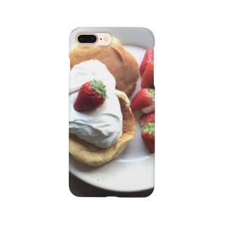 🍓パンケーキ Smartphone cases