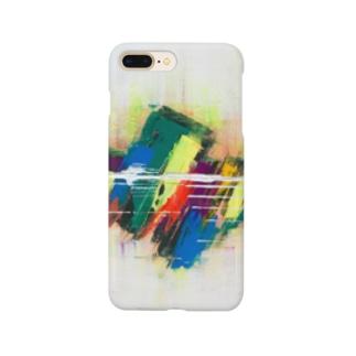 現代アート Smartphone cases