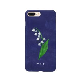 5月のスズラン Smartphone cases