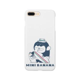 MINI BANANA サーフィンゴリラ親子 Smartphone cases