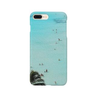 ワイキキビーチ縦 Smartphone cases