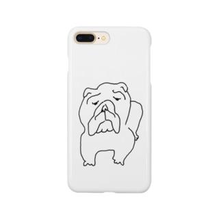 ブルドッグ Smartphone cases