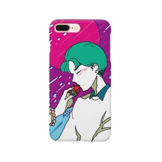 甘酸っぱい雨夜 Smartphone cases