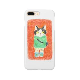 パーカーのねこ Smartphone cases