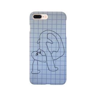 うんこ食べるマン Smartphone cases