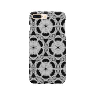 幾何学デザイン Kick.A.Guckのワイドアップ顕微鏡 Smartphone cases