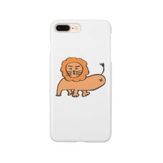 ブサカワライオン Smartphone cases