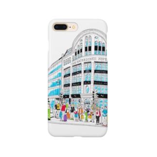 Berlinシリーズ「信号待ち」 Smartphone cases