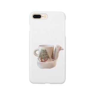 とりカップ Smartphone cases