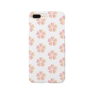 REMEMBER HANAの【¥1000分寄付】REMEMBER HANA チャリティーアイテム Smartphone cases