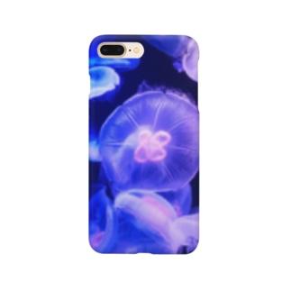 夜に咲くクラゲ Smartphone Case