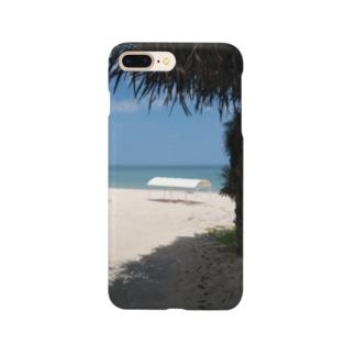 森の奥のビーチ Smartphone Case
