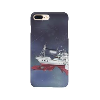 未知数の魚生丸 Smartphone cases
