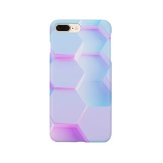 momo_emi 蜂の巣 Smartphone cases